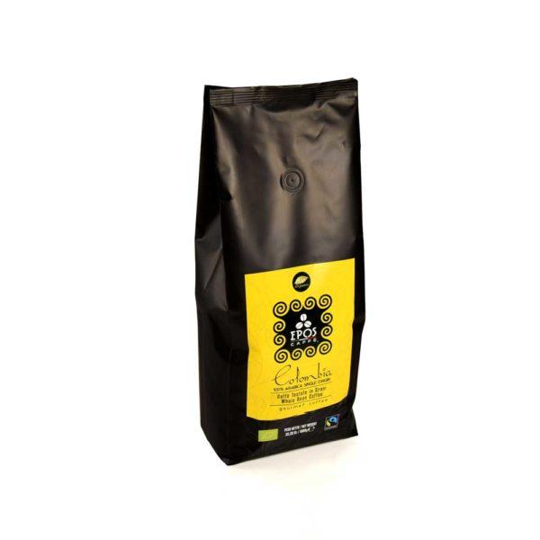 colombia supremo Bio Fairtrade in grani