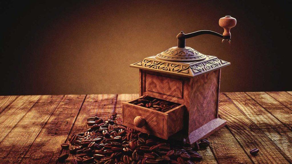 la prima macchina da caffè
